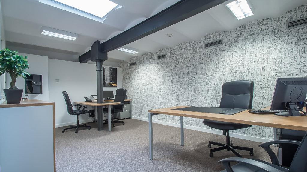 Despacho del centro de negocios de Comfort Business Barcelona