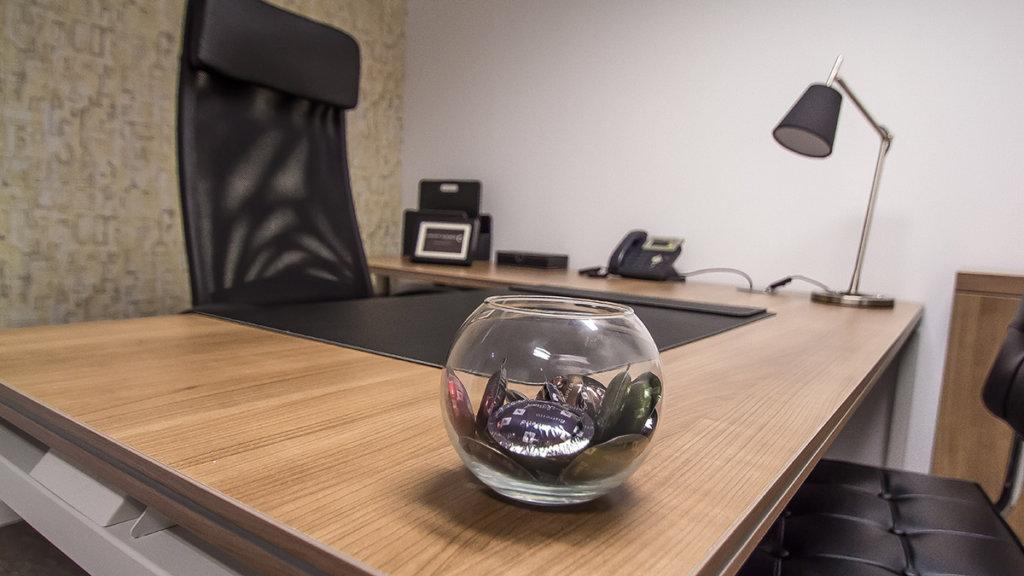 Despacho individual del centro de negocios de Comfort Business Barcelona