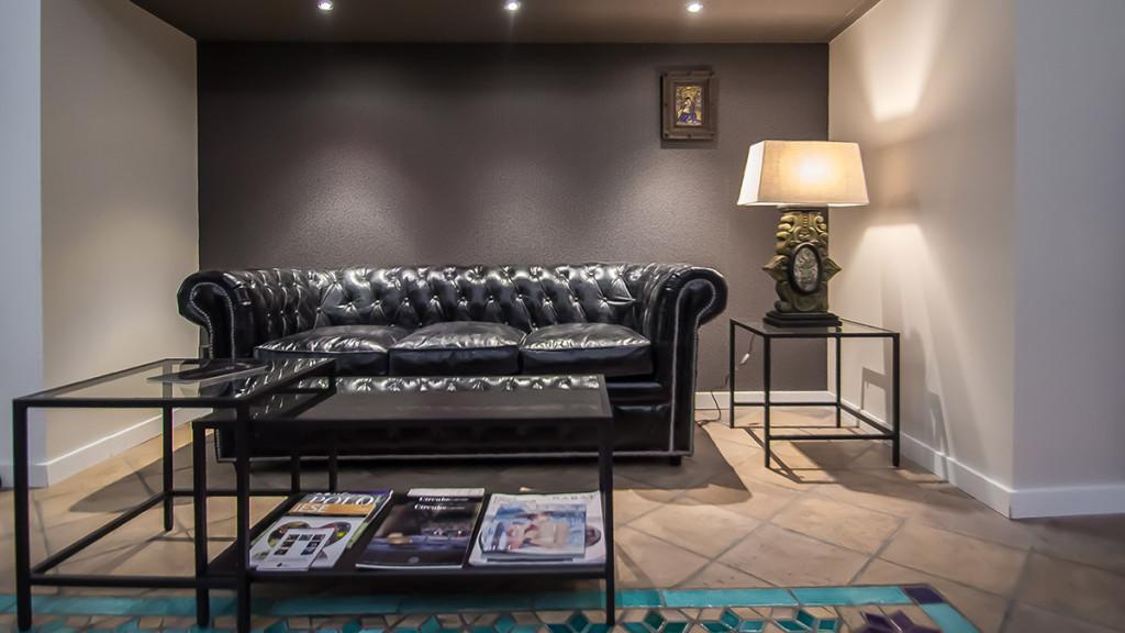 Sala de estar del centro de negocios Comfort Business Barcelona